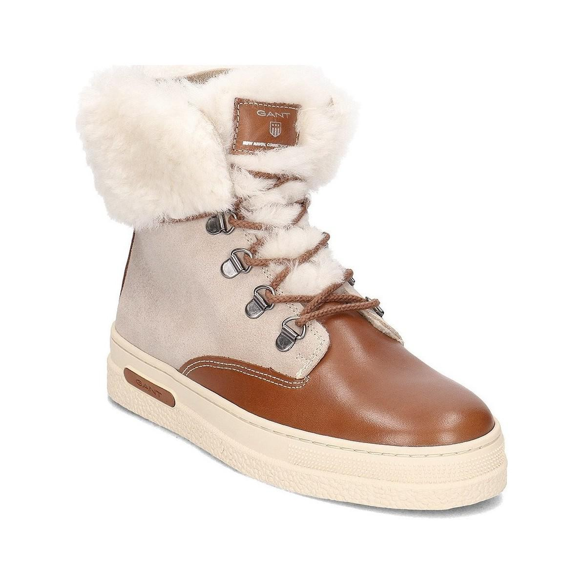0b78794065 GANT Maria Women's Snow Boots In Brown in Brown - Lyst