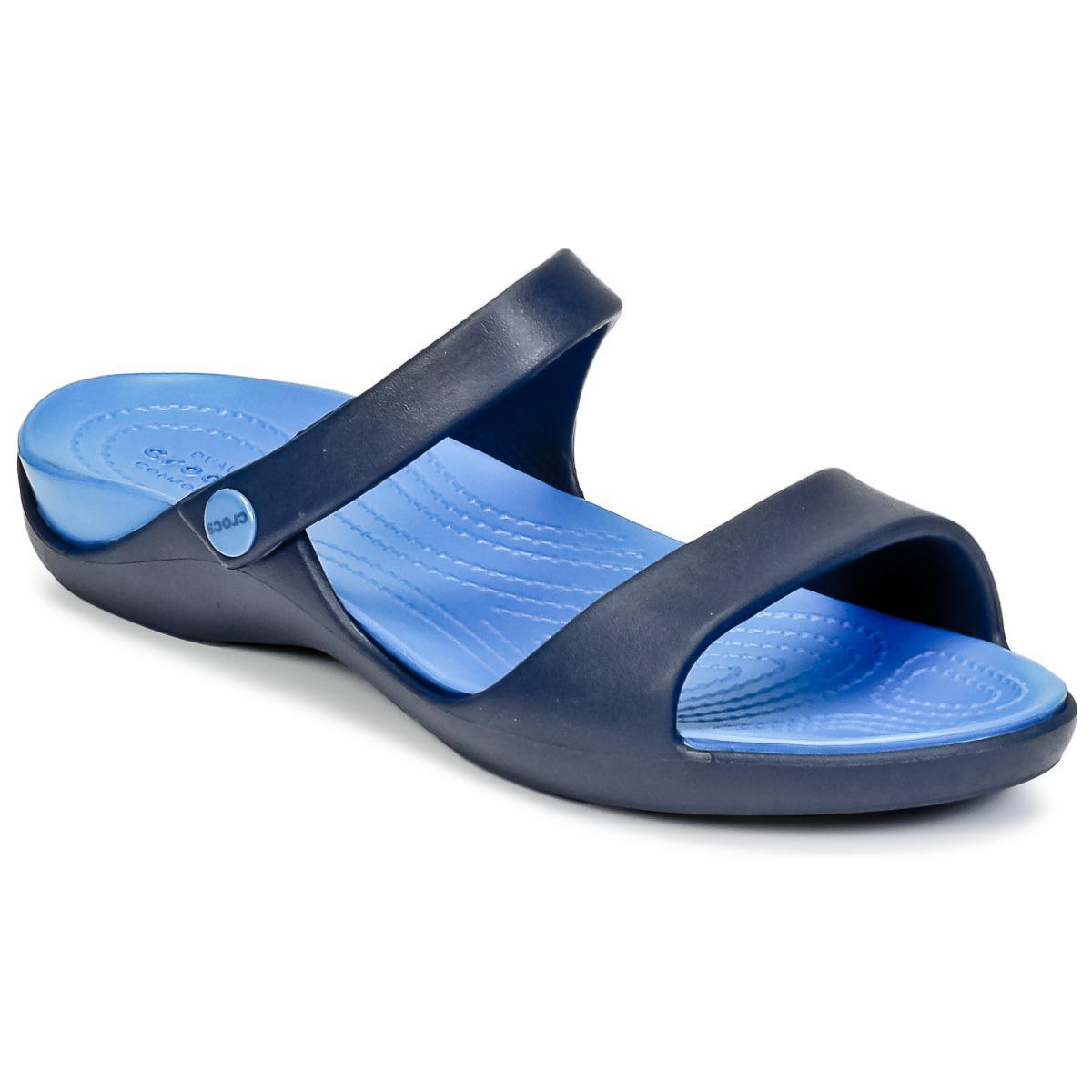 83a3af59a394 Crocs™ Cleo V Women s Sandals In Blue in Blue - Lyst