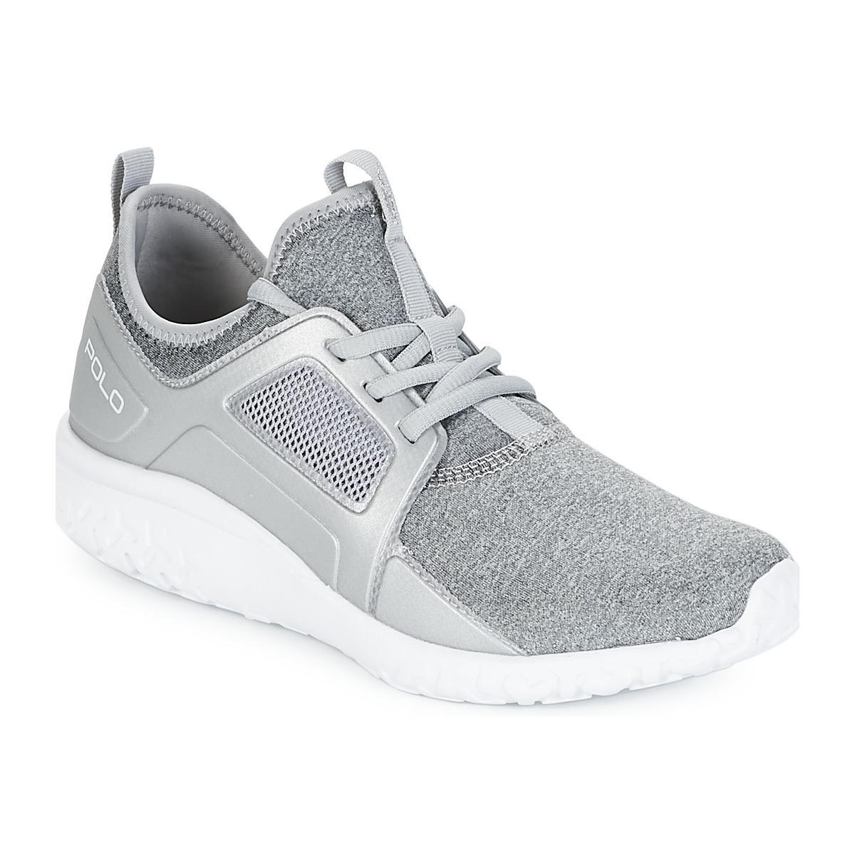 24d9164b6 Polo Ralph Lauren Train 150 Women s Shoes (trainers) In Grey in Gray ...