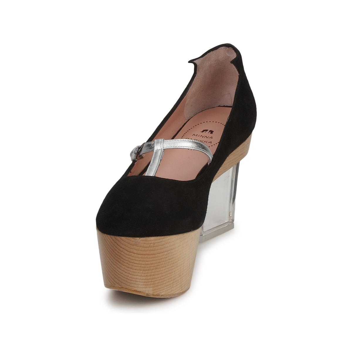 803daccbd8 Minna Parikka - Tbc Women s Court Shoes In Black - Lyst. View fullscreen