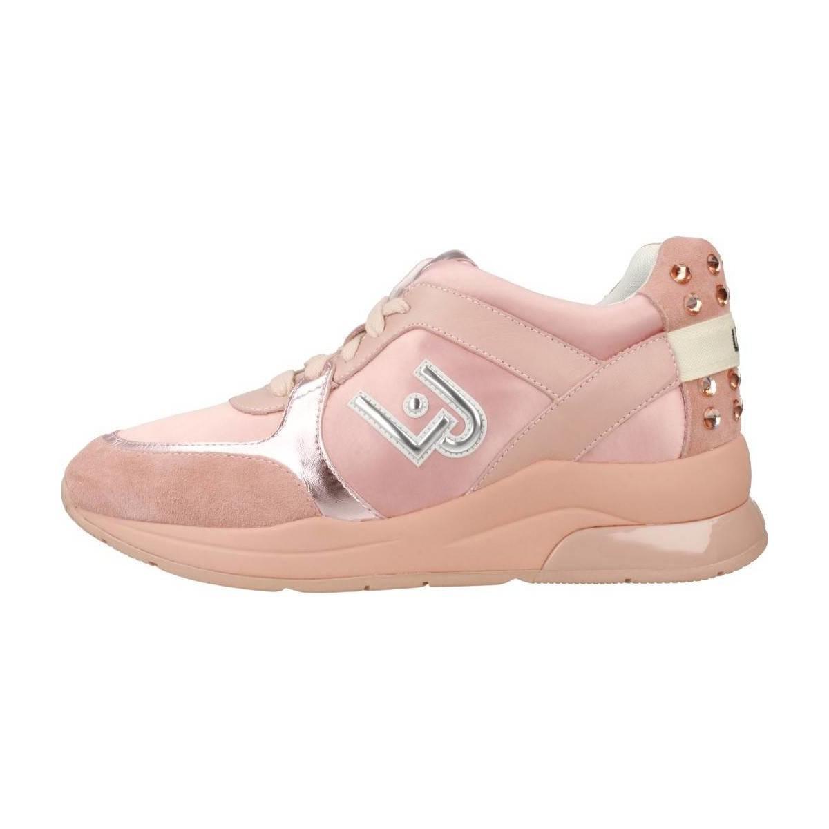 Liu Jo Running Miranda Women s Shoes (trainers) In Pink in Pink - Lyst 5015d41640e