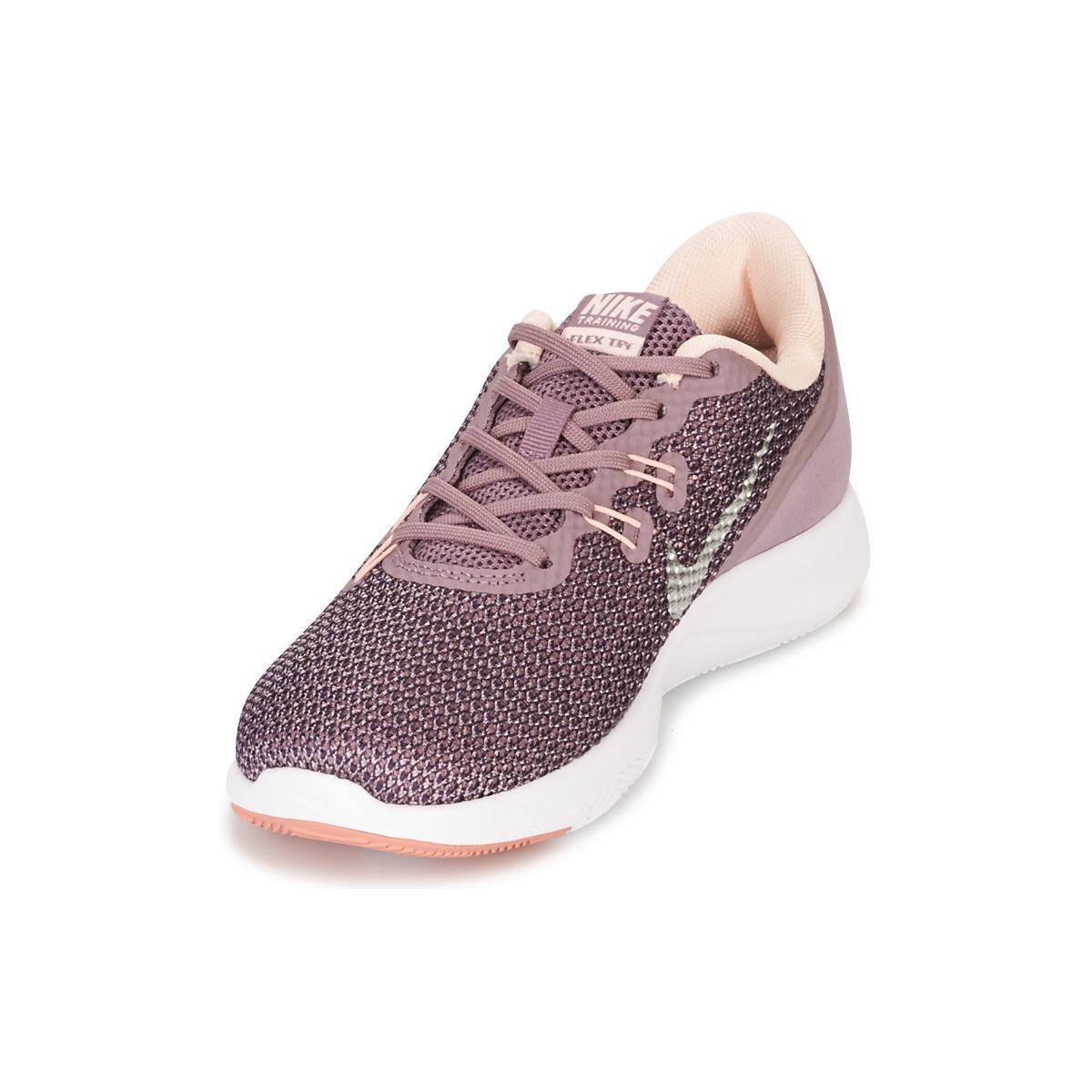 a349adee7dd Nike Flex Trainer 7 Bionic W Women s Trainers In Purple in Purple - Lyst