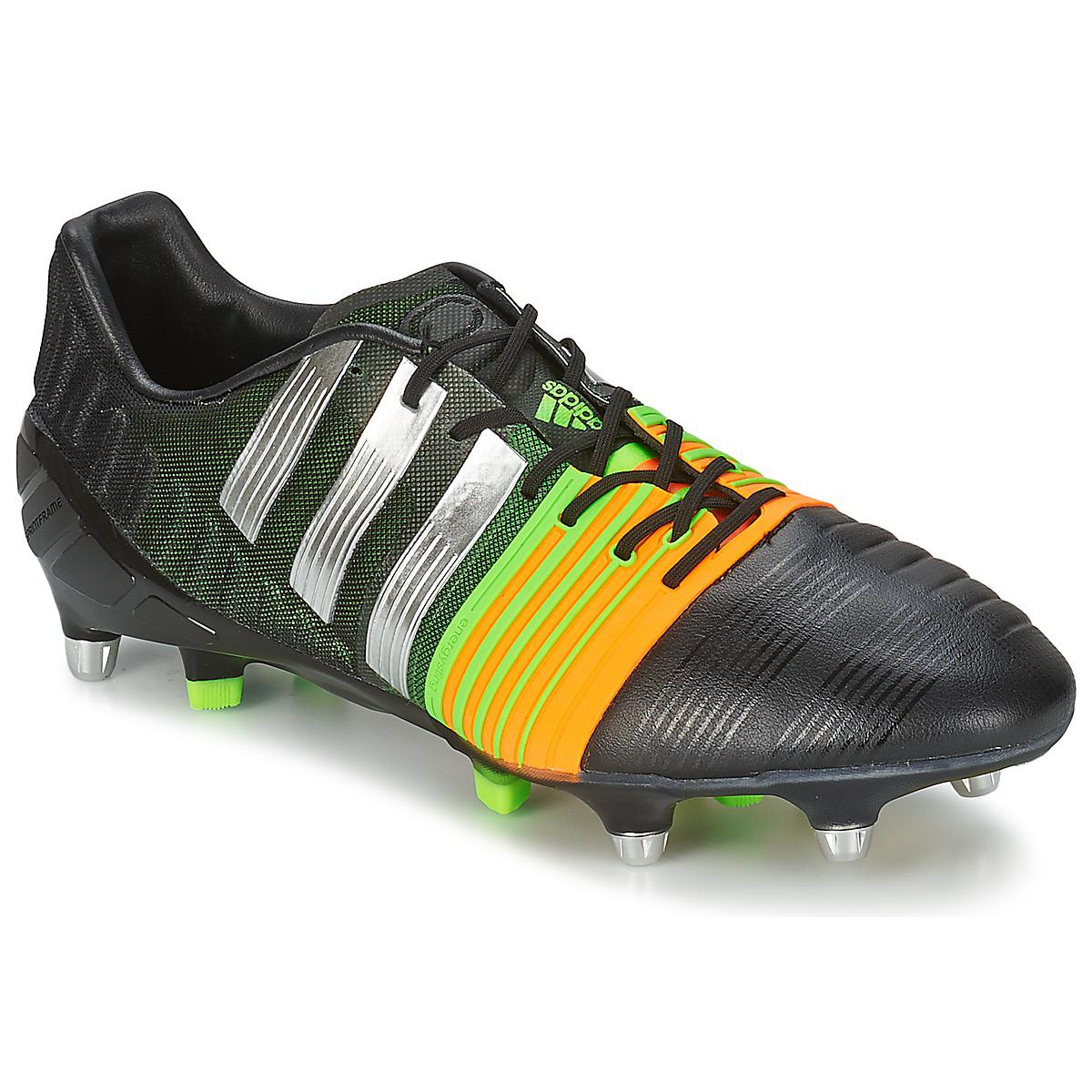 info for 317c6 f3ff6 Adidas Nitrocharge 1.0 Sg Men s Football Boots In Black in Black for ...