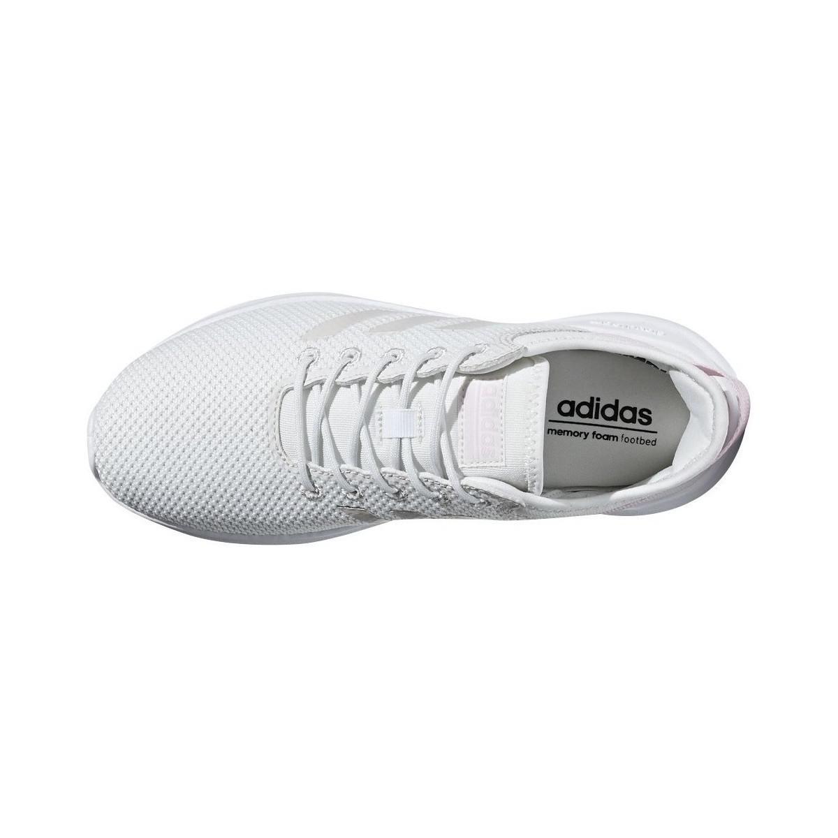 0903134bc191 White Women's ShoestrainersIn Adidas Cloudfoam Qt Flex wkTPOZlXiu