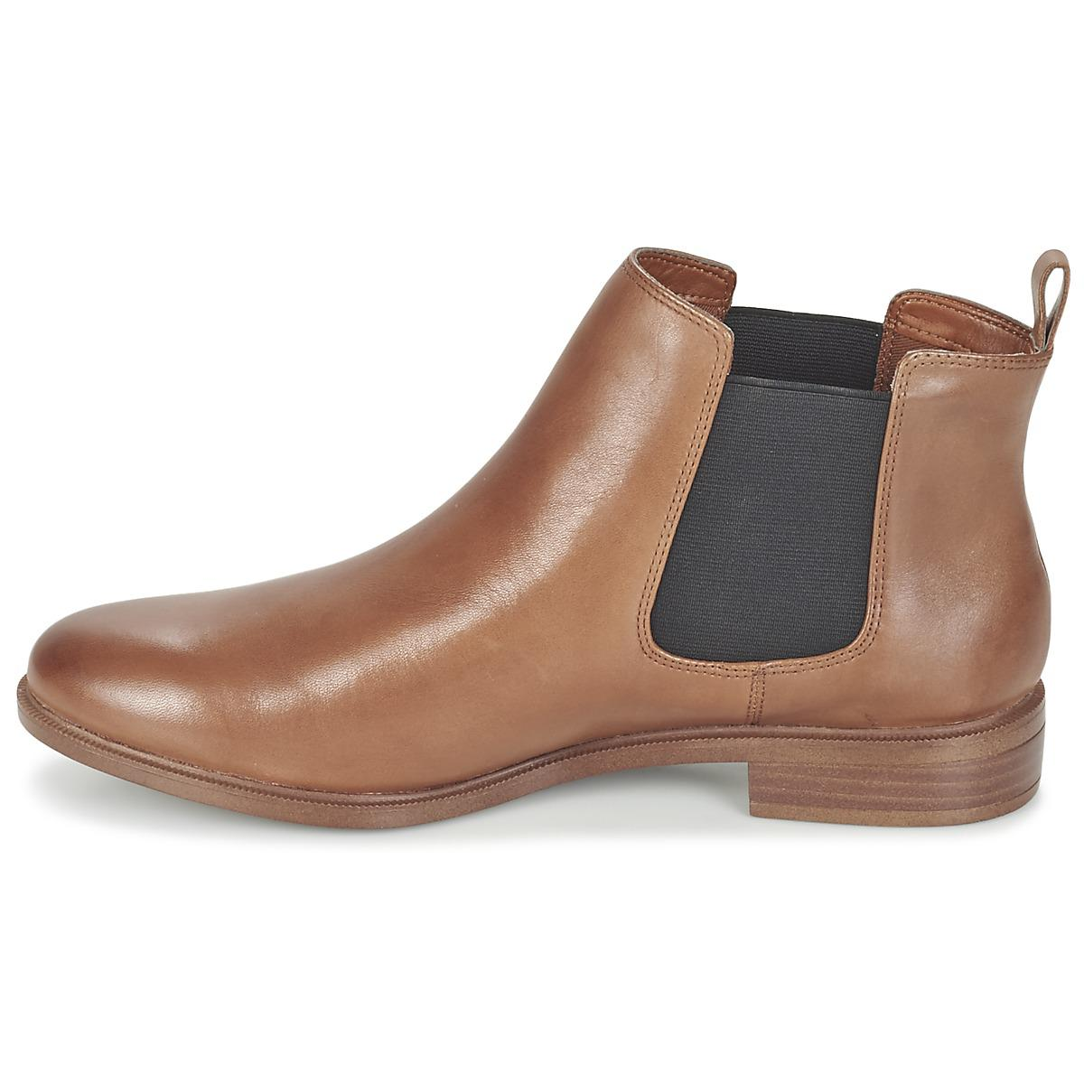 Clarks Taylor Shine Women S Mid Boots In Brown In Brown Lyst