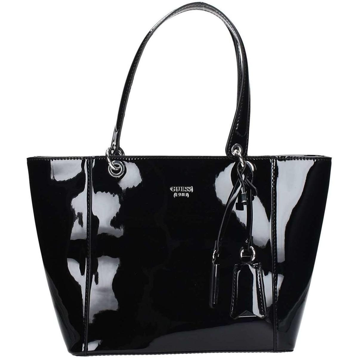 22b802071e64 Guess Hwpt66 91230 Shopping Bag Women s Shopper Bag In Black in ...