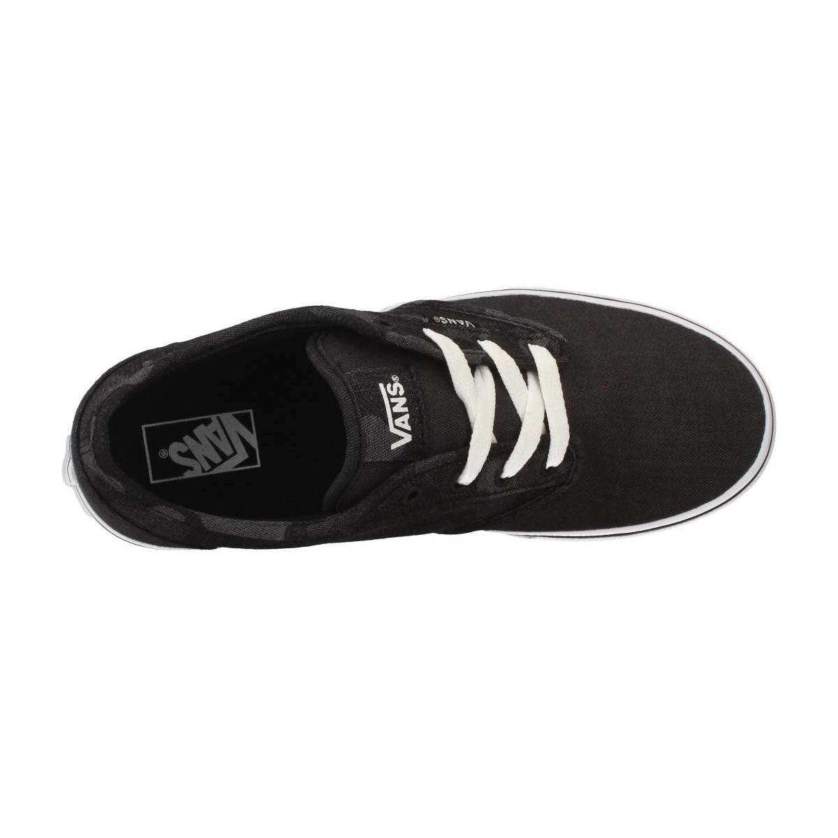 Yt trainers Black Women's Vans Atwood Lyst In Shoes f4x8xPAn