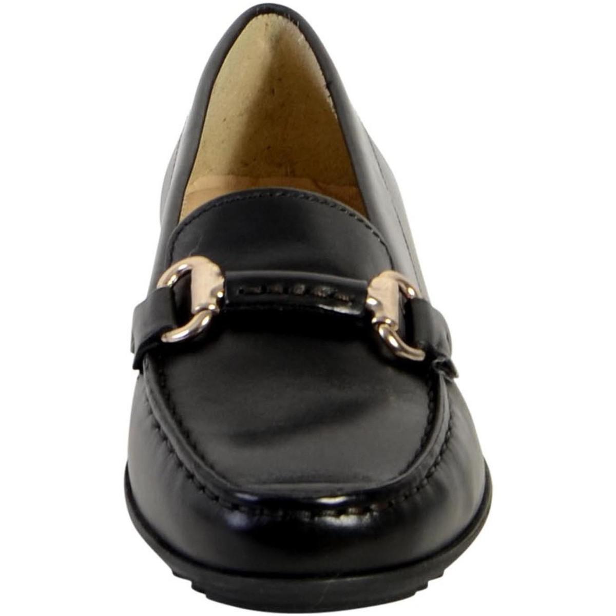 Geox Moccasin D Elidia B D642tb 00043 C9999 Black Womens Loafers Island Shoes Slip On Mocasine Casual Gallery