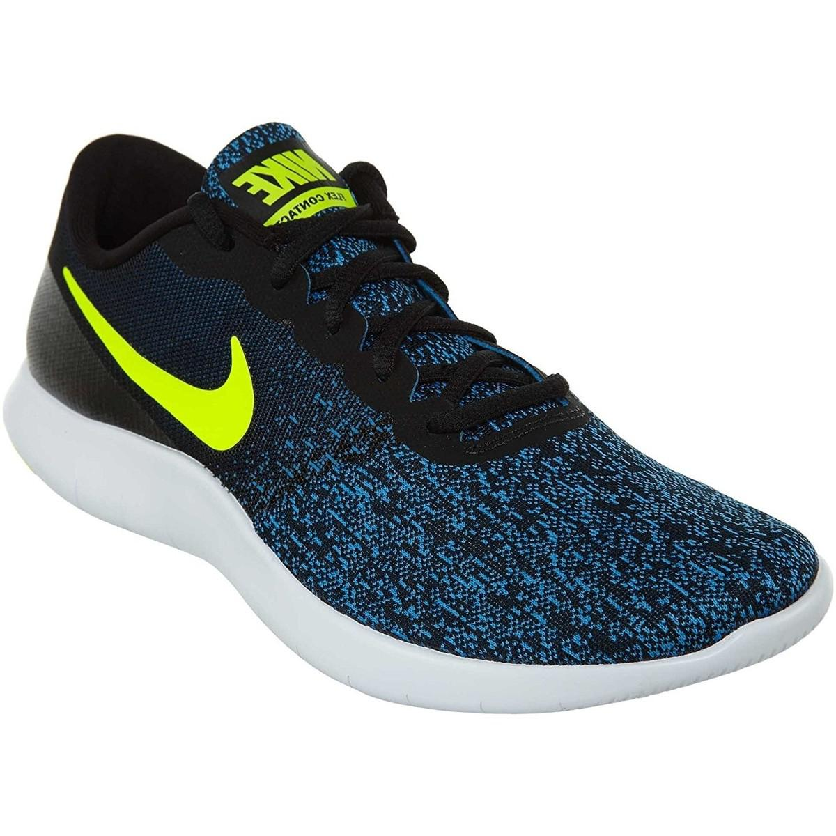 b137c1dc9f2a Nike Flex Contact Running Shoe Women s Shoes (trainers) In Blue in ...