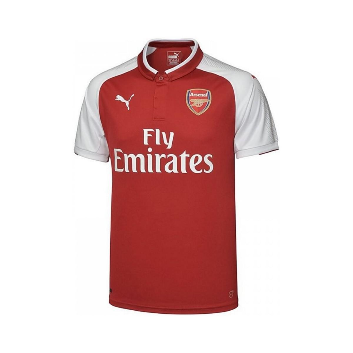 Puma 2017-18 Arsenal Home Shirt - Kids (wilshere 10) Men s Polo ... 18bd7f35d
