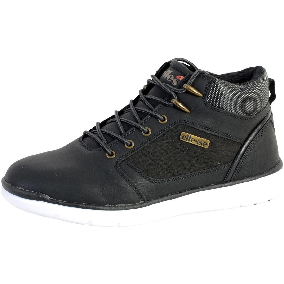 En Pour Lyst Basket Chaussures Hommes Montante Hugo Noir Ellesse rqwXq84