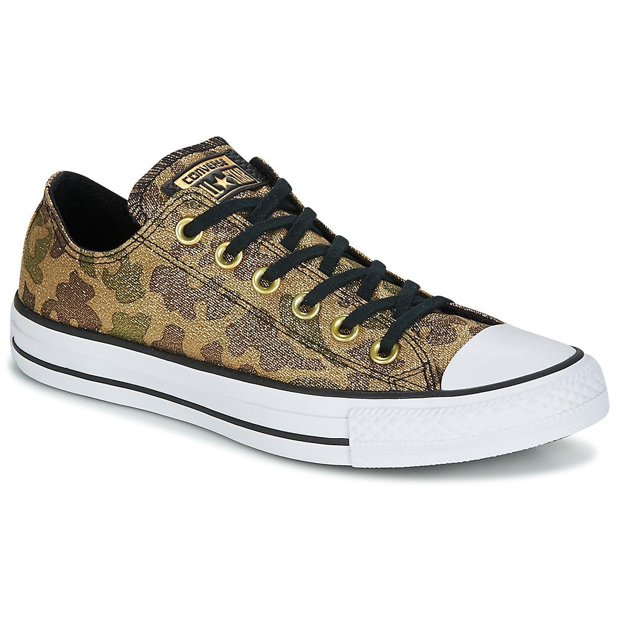 Converse Chuck Taylor All Star Ox Lurex Camo Women s Shoes (trainers ... b5c19e6673