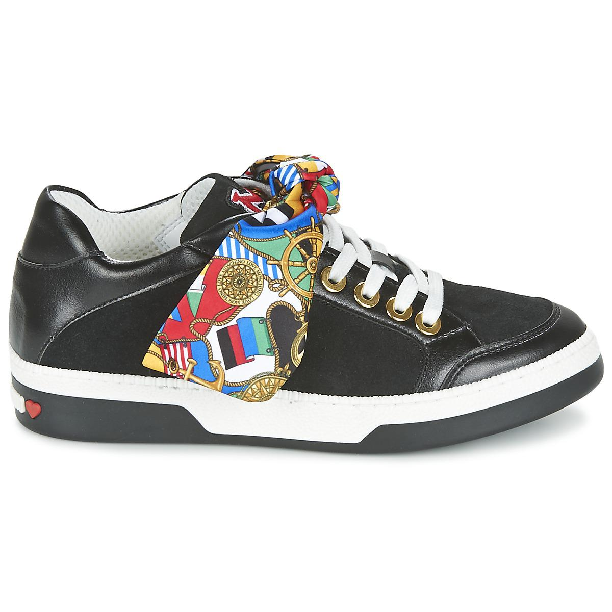 Moschino I LOVE FOULARD 15054 women's Shoes (Trainers) in Sale 2018 New Cheap Sale Order WoqO8f