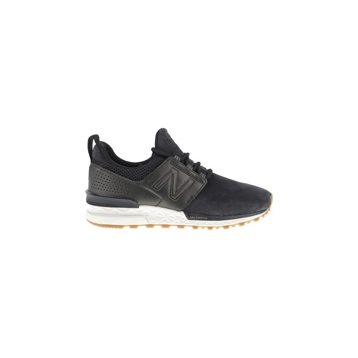 16456ccbeed8f New Balance Ws574ds Women's Mid Boots In Black in Black - Lyst