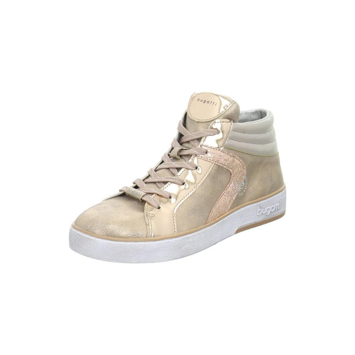 Bugatti 4222913050503490 Women s Shoes (high-top Trainers) In Pink ... 614c85e422
