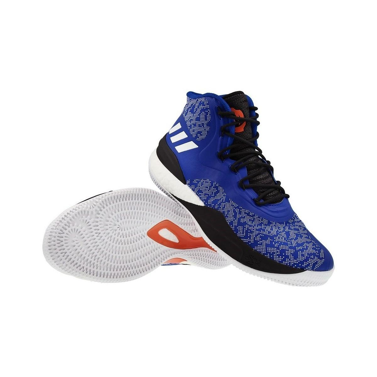 071223660d0e adidas D Rose 8 Men s Shoes (high-top Trainers) In Black in Black ...