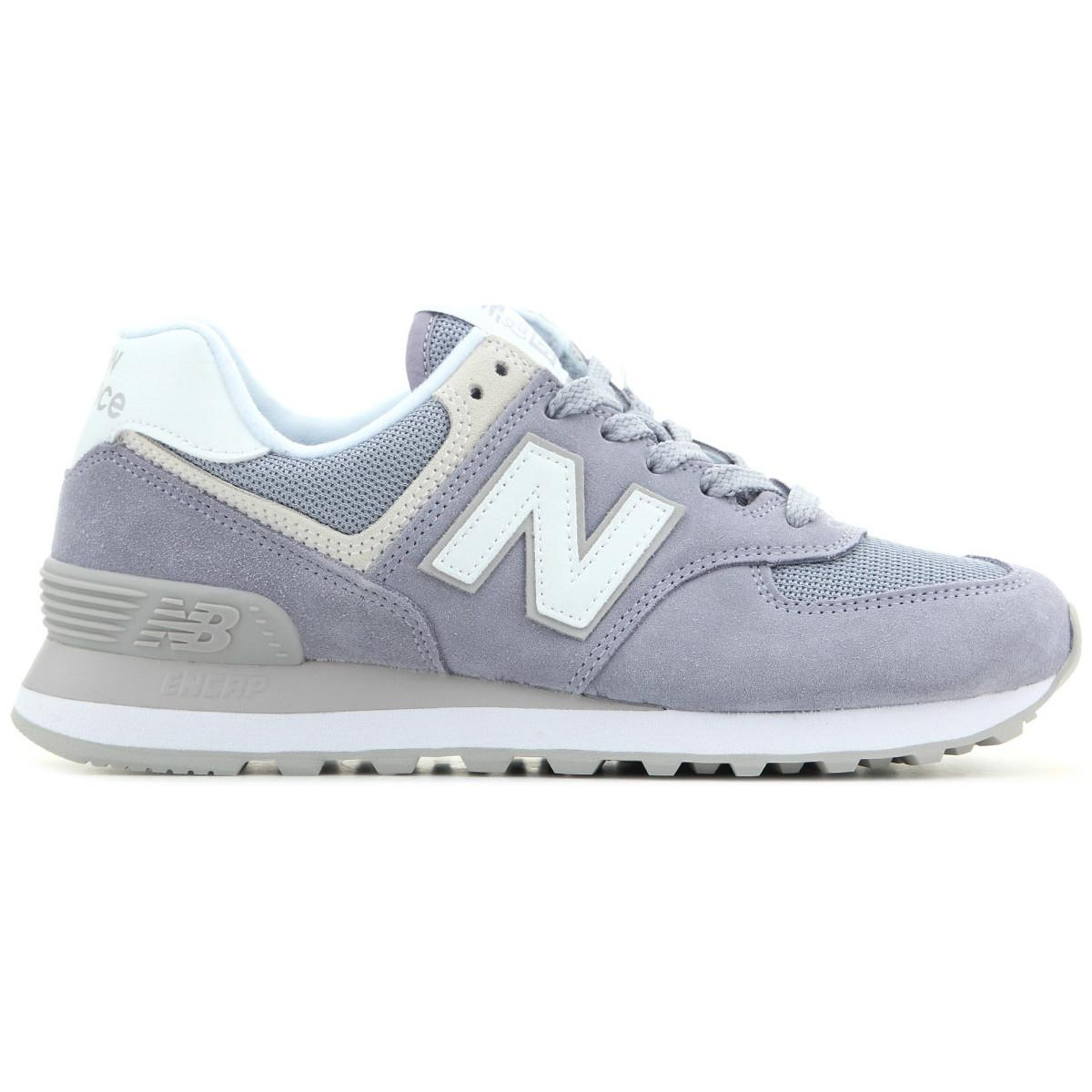 online store 04fae 5ccad New Balance Wl574esv Women's Shoes (trainers) In Purple in ...