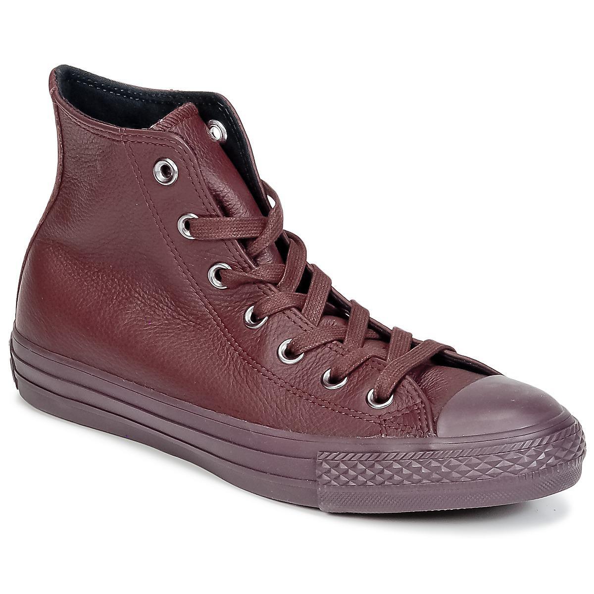 ce688365cc3b Converse Chuck Taylor All Star Mono Cuir Men s Shoes (high-top ...
