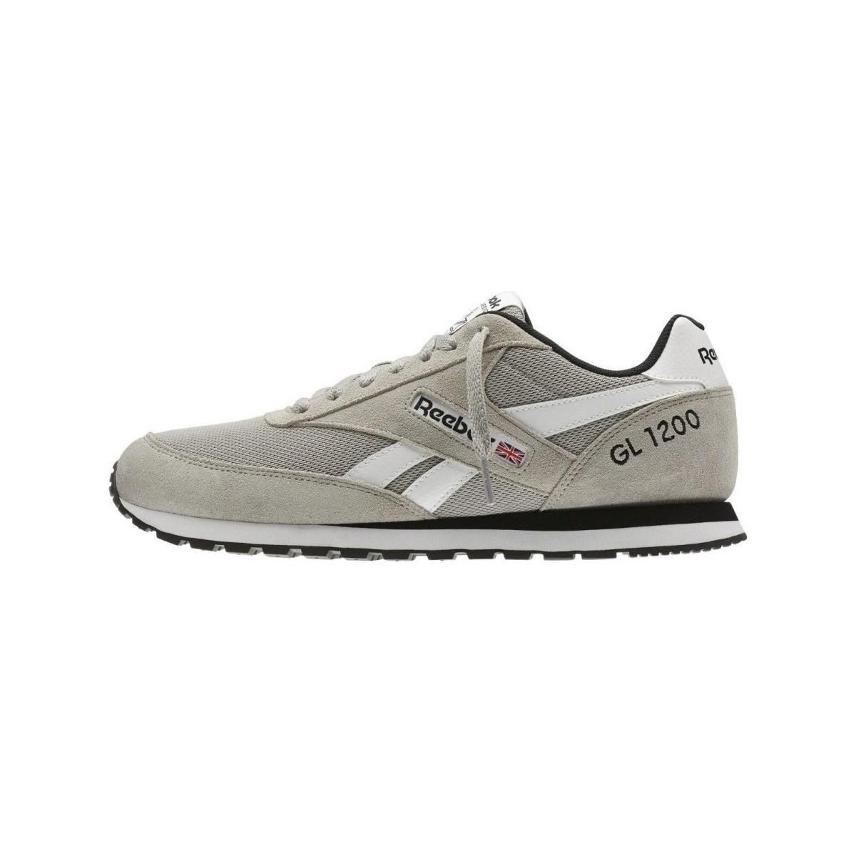 f58ade45e1ad Reebok Gl 1200 Men S Shoes Trainers In Grey Black For Lyst