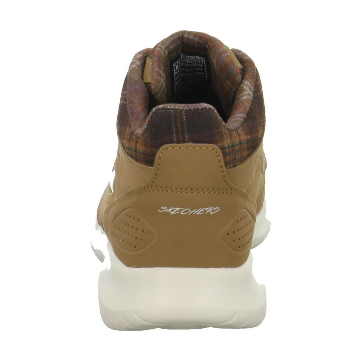 9ce4d9e36d54 Skechers - Ultra Flex Just Chill Women s Safety Boots In Brown - Lyst. View  fullscreen
