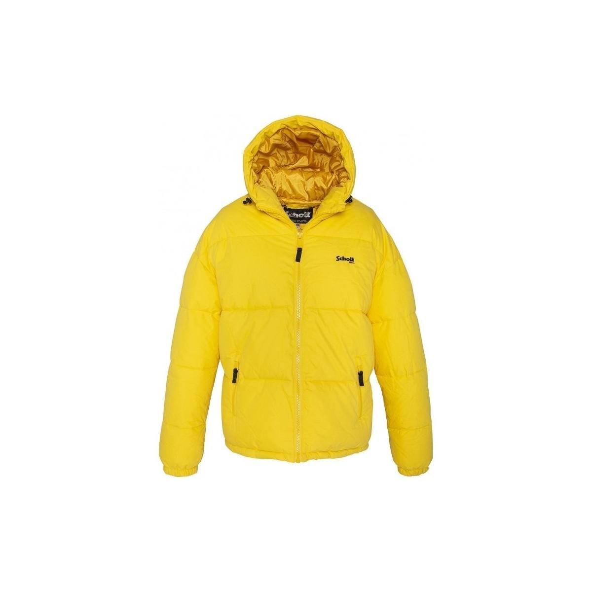 Lyst - Doudoune JKT ALASKA W Jaune femmes Blouson en jaune Schott ... 5b31452a231d