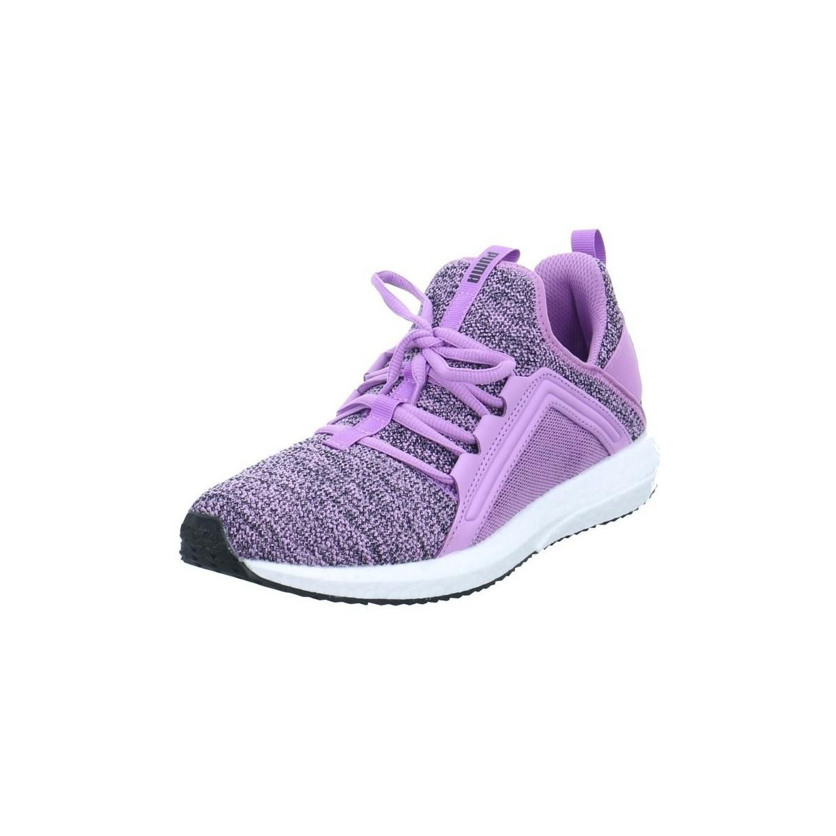 81d4c51d1ee03f Puma Mega Nrgy Knit Women s Shoes (trainers) In Purple in Purple - Lyst