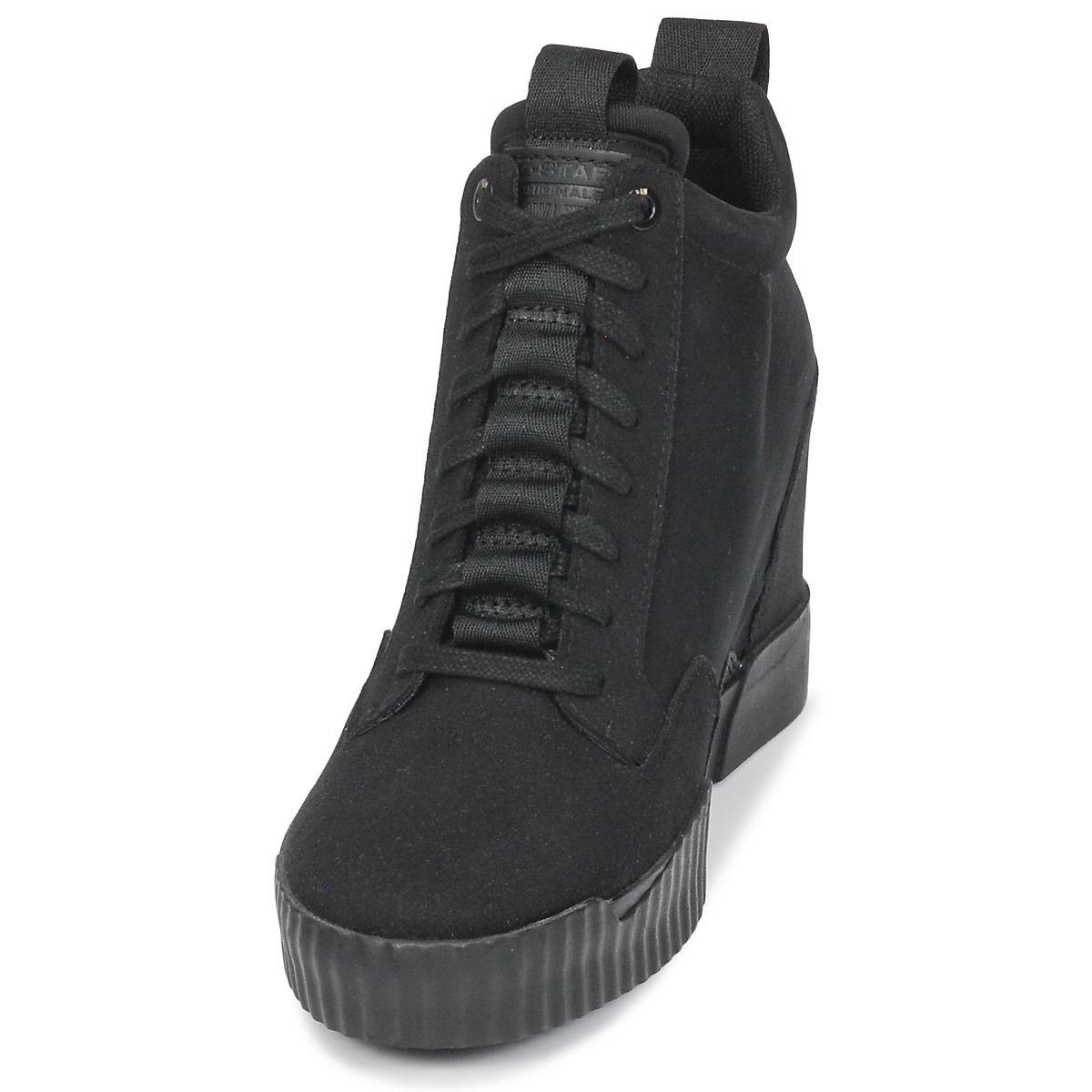 715b9e5d46a9 G-Star RAW - Rackam Core Wedge Women s Shoes (high-top Trainers). View  fullscreen