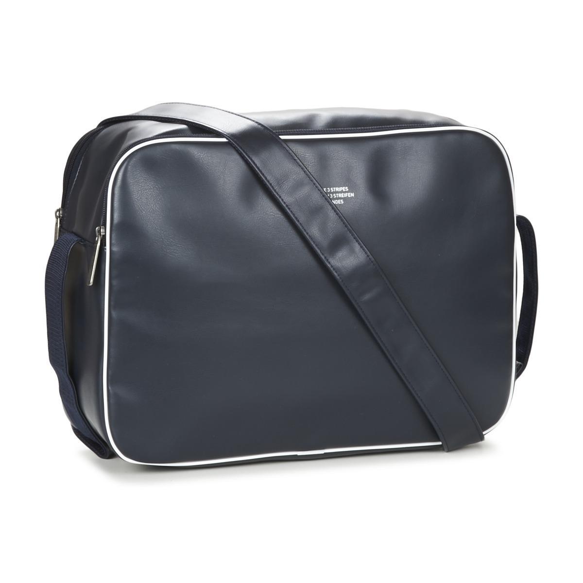 87961e9aef Adidas - Airliner Vintage Women s Messenger Bag In Blue for Men - Lyst.  View fullscreen