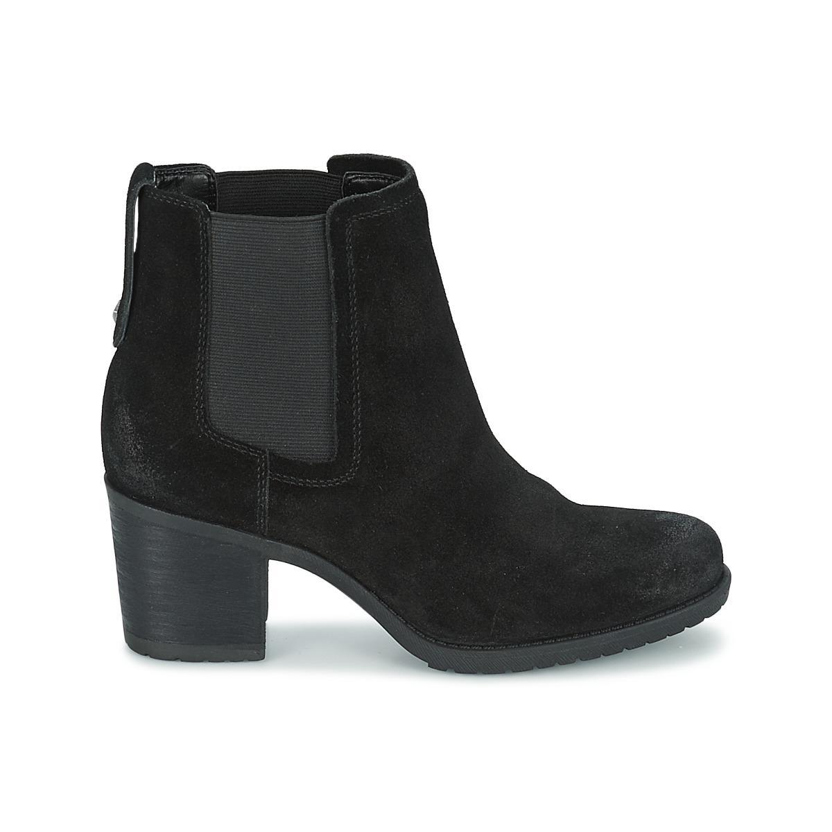 64c465d76c2 Sam Edelman - Hanley Women s Low Ankle Boots In Black - Lyst. View  fullscreen