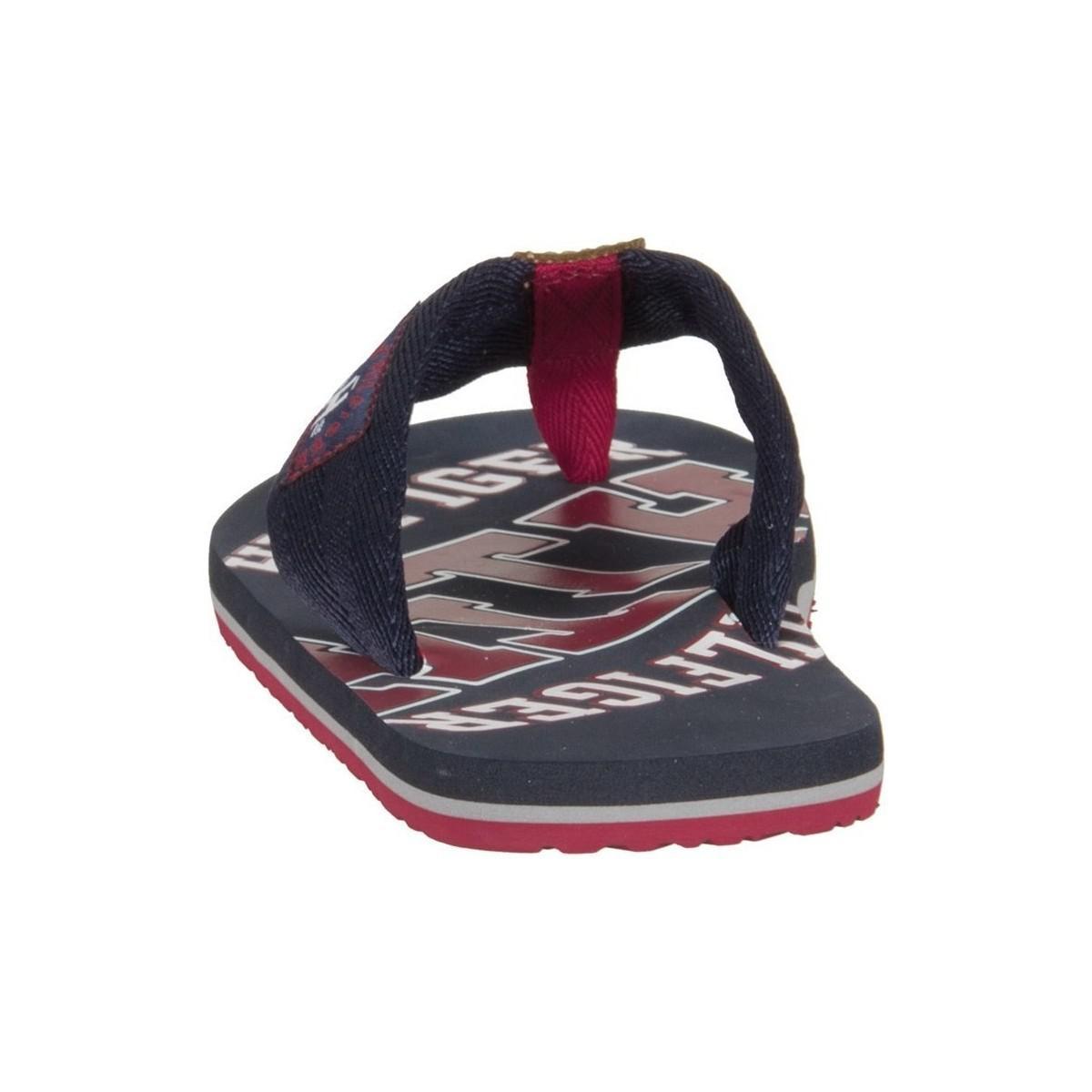 b4f87be6e Tommy Hilfiger Essential Th Beach Sandal Midnight Men s Flip Flops ...