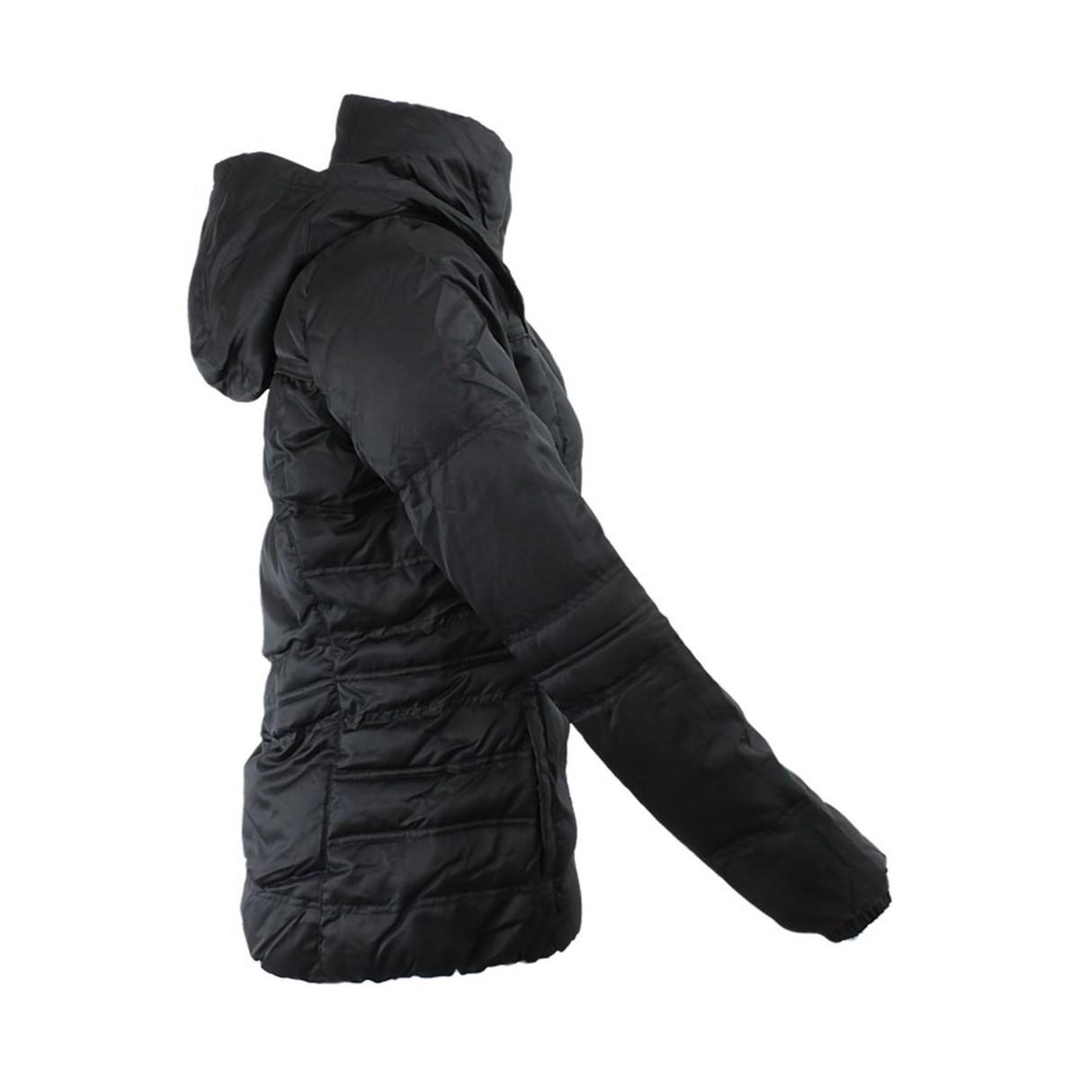 e847adf4b835 adidas J Down Jacket Women s Jacket In Black in Black - Lyst