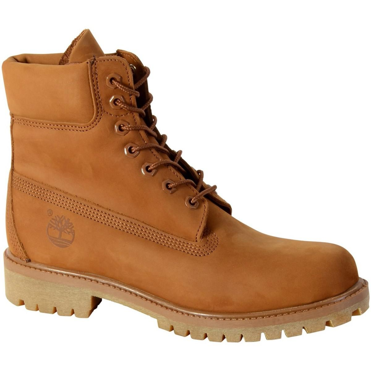Timberland Shoes A1m9u Premium Boot Trapper Tan Men's Mid Boots In Yellow for men