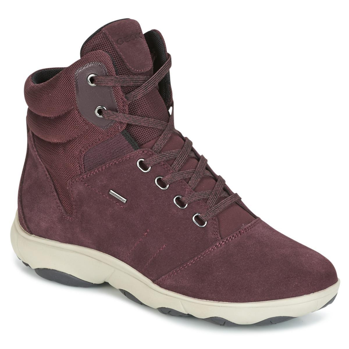 Womens D Nebula 4 X 4 B ABX a Hi-Top Sneakers Geox bbF7Tc59n