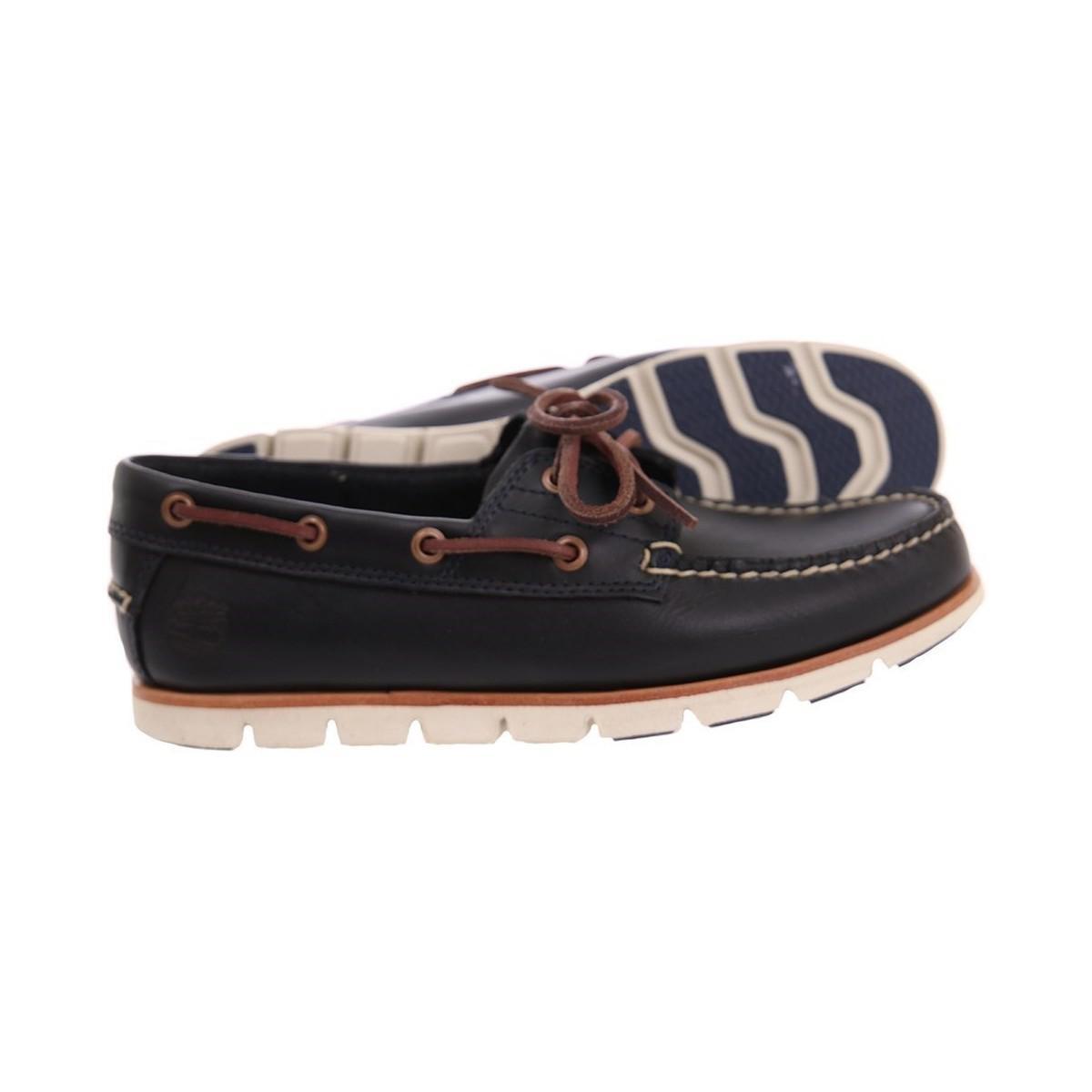 a8ad77efd Timberland Tidelands 2 Eye Dark Indigo Brando Men s Boat Shoes In ...