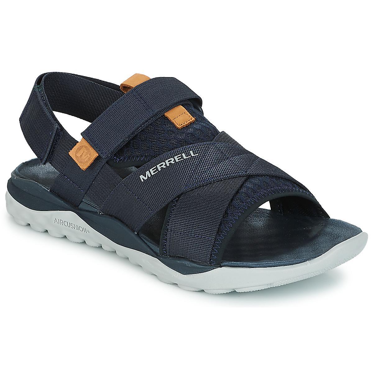 a98c9411c77b Merrell 1six8 Tellchill Strap Ac+ Men s Sandals In Blue in Blue for ...