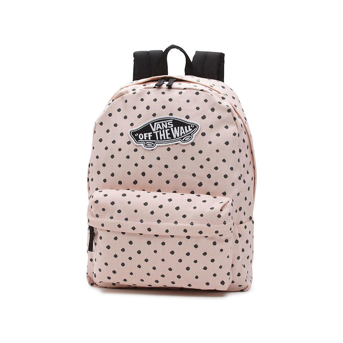 Vans Mochila Realm Backpack Women s Backpack In Pink in Pink - Lyst 7f128b3e30c