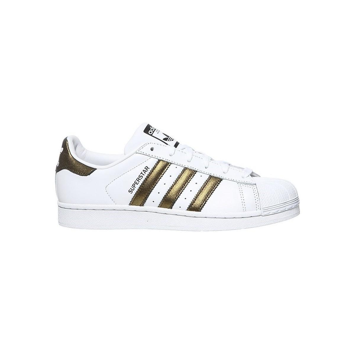 Save In White Superstar W Adidas trainers Women's Shoes 86n4gw