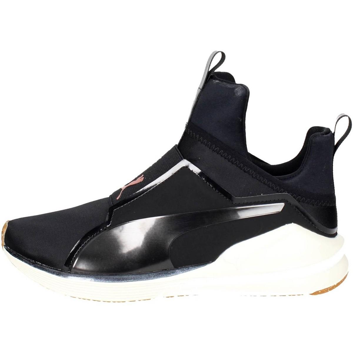 Puma 190347 01 Women s Shoes (high-top Trainers) In Black in Black ... 69049495e