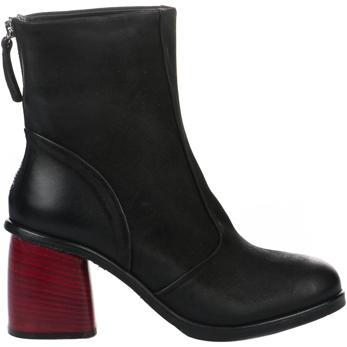 Femme Boots Femmes En Noir Miglio Lyst 36 ZPAqw8