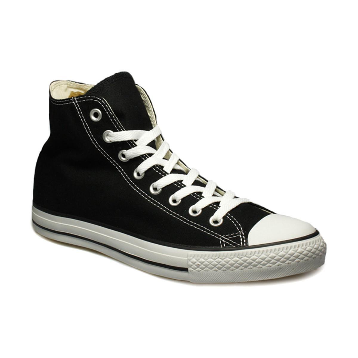 Shoes Mens Hi All Converse Men's Trainers high Womens Star Black pdwqX8