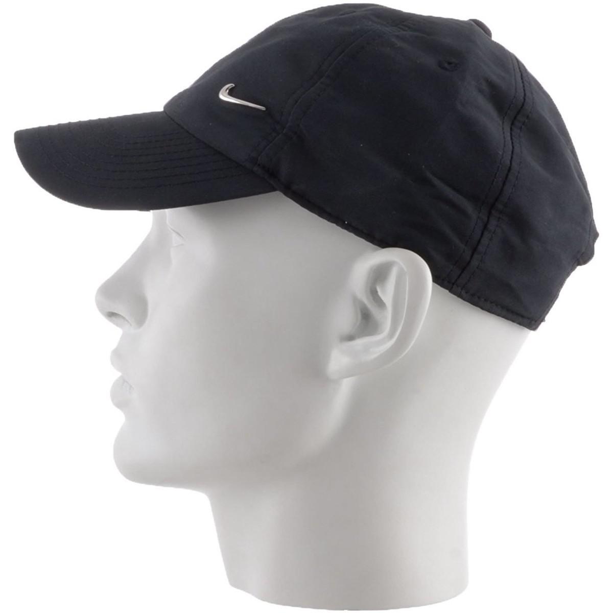 Nike Metal Swoosh Cap - Gorra Para Unisex Talla Men s Cap In Black ... 26fd3248d2c