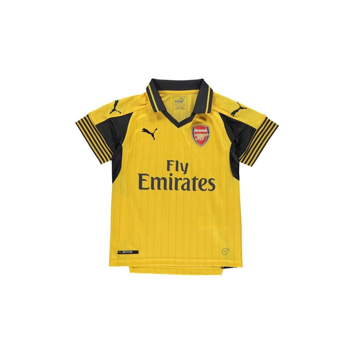 be07b356f34ec1 PUMA 2016-17 Arsenal Away Shirt (ozil 11) - Kids Men s T Shirt In ...