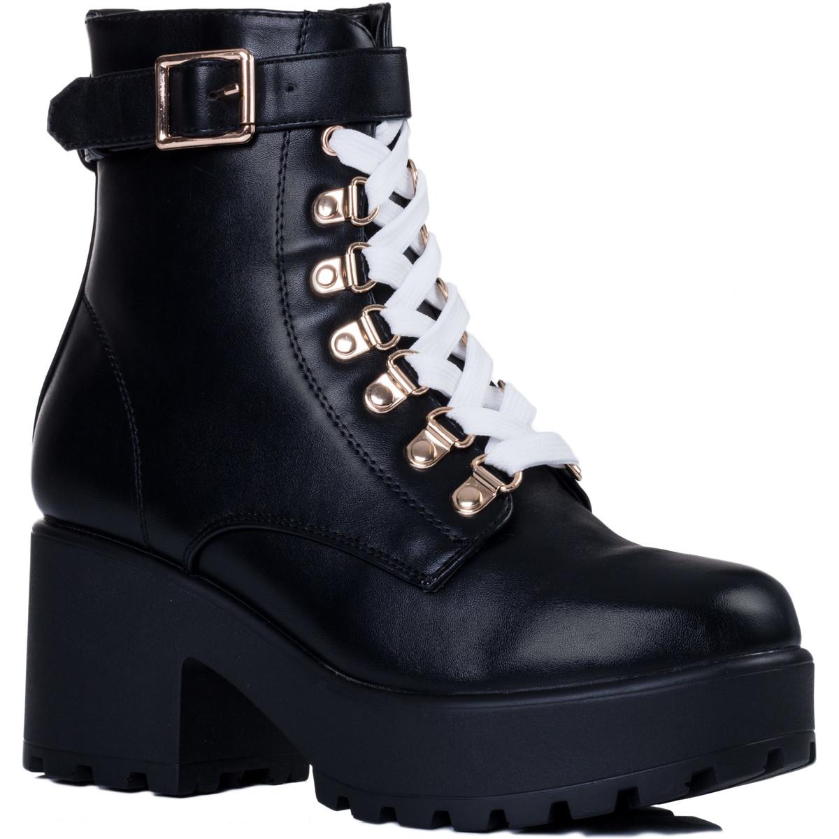 f9c16969f3b Viciouser Women's Low Ankle Boots In Black
