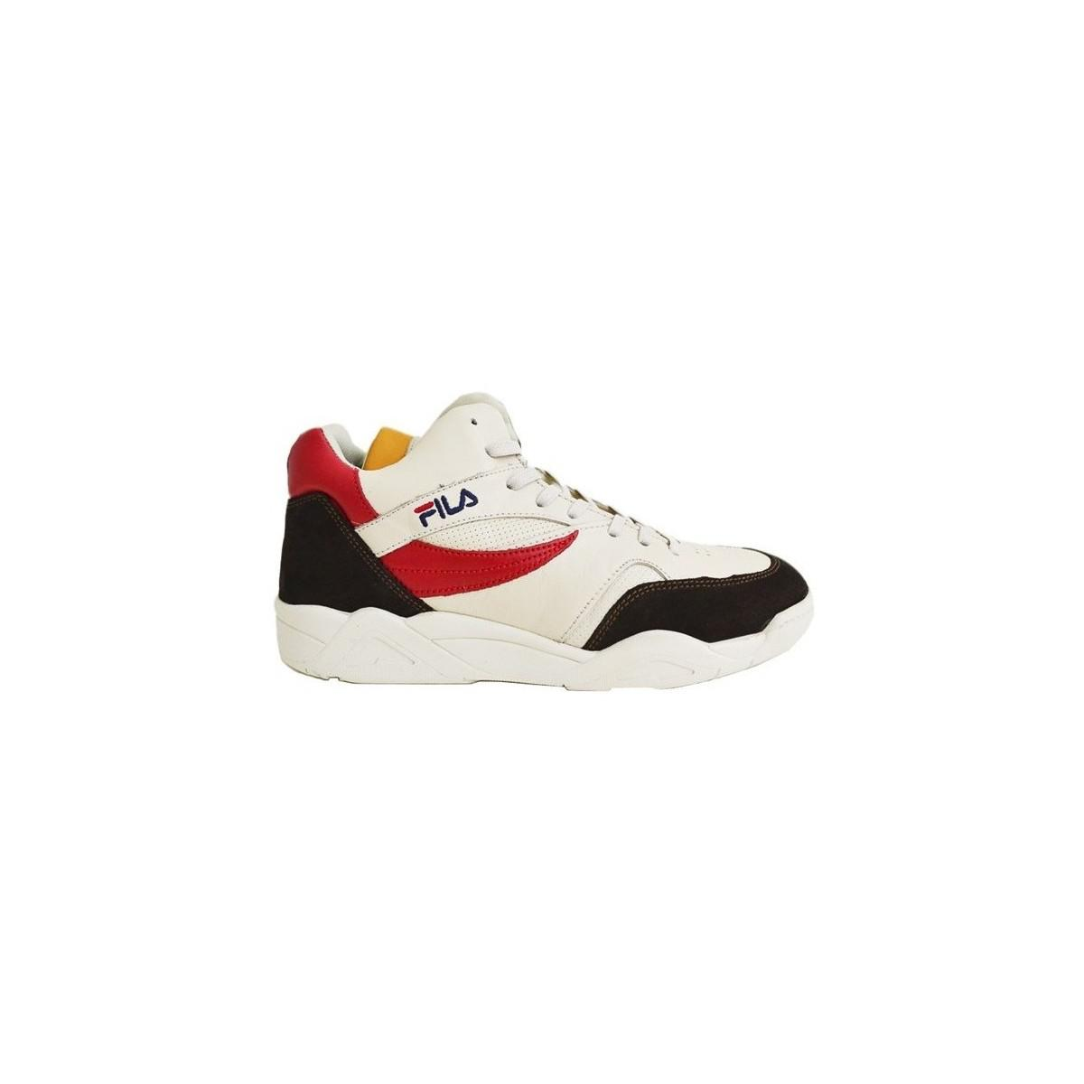 c9357aa0 Fila Pine Cb Mid Men's Shoes (trainers) In White for Men - Save ...