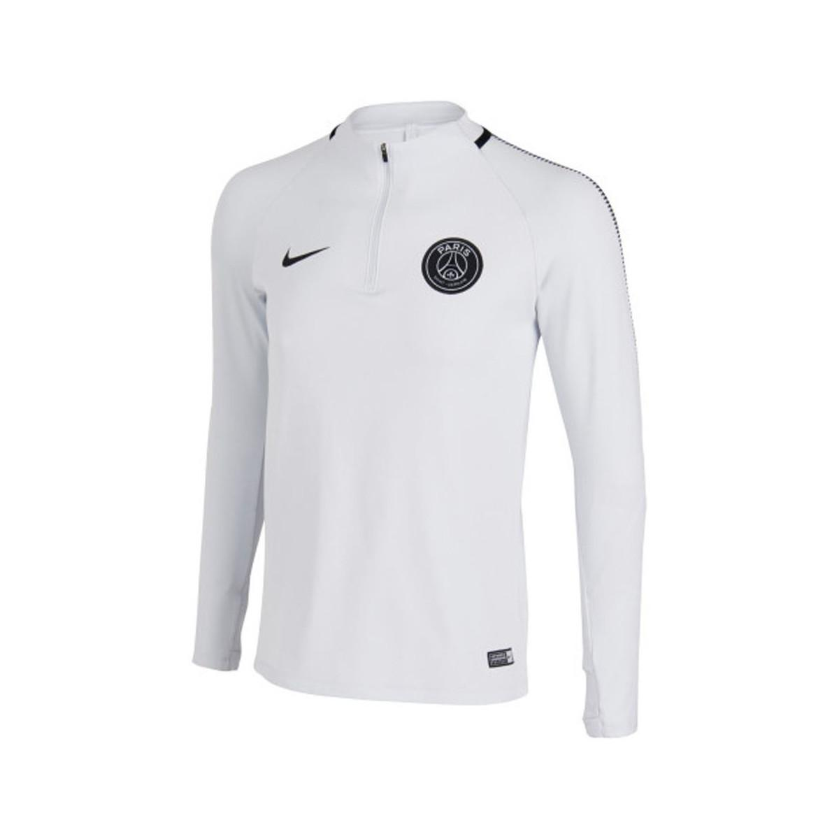 Nike 2017-2018 Psg Drill Top (pure Platinum) Women s In Grey in Gray ... ef510d9e8f