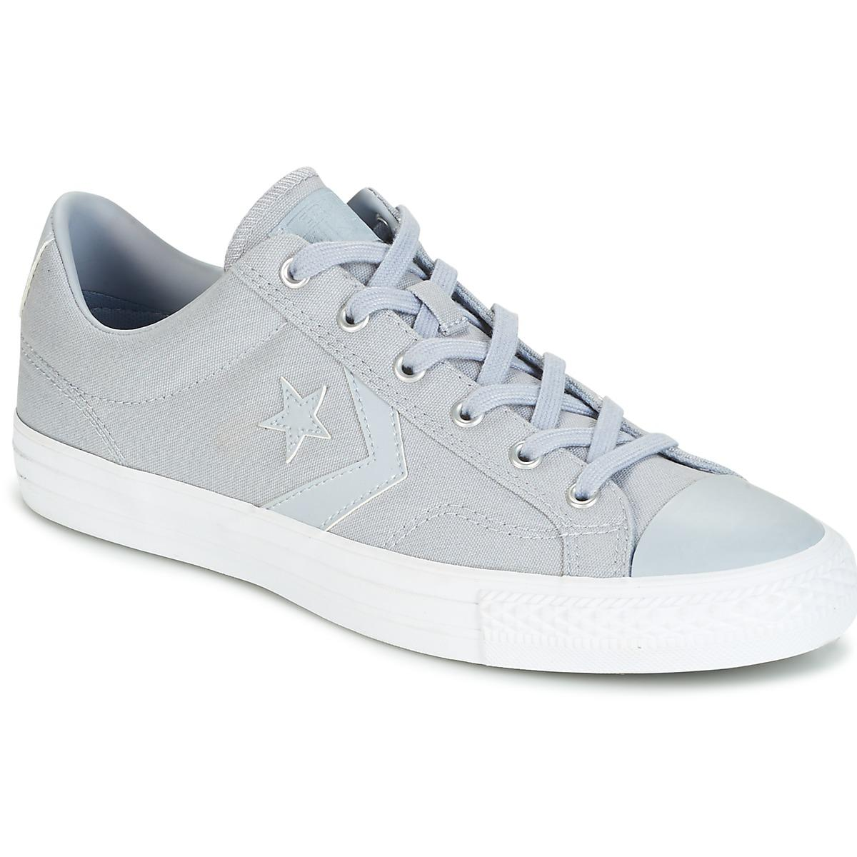 6ea69cd112c5 Converse Star Player Canvas With Gum Ox Wolf Grey wolf Grey white ...