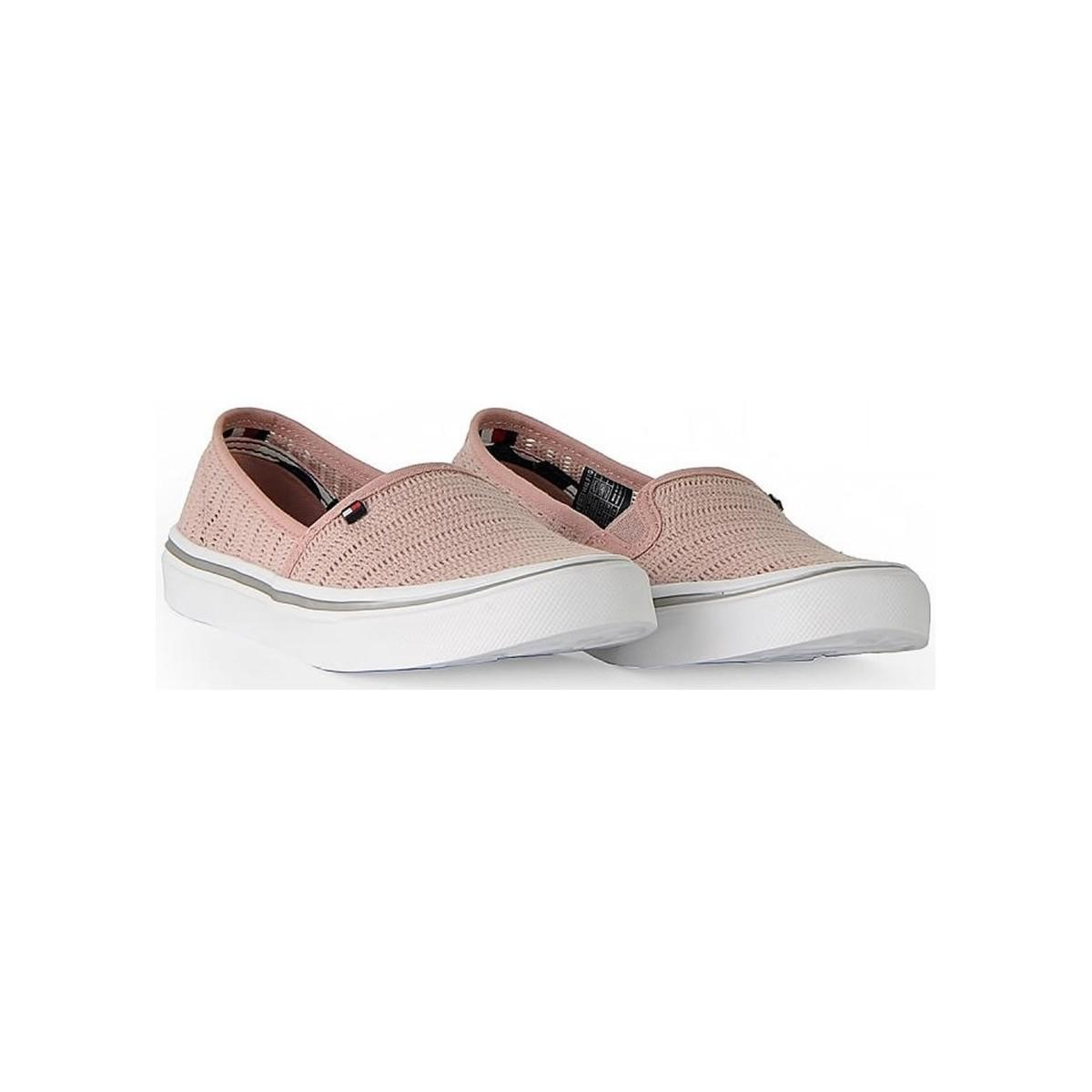 6cad57715 Tommy Hilfiger Mara 4d1 Women s Slip-ons (shoes) In Pink in Pink - Lyst