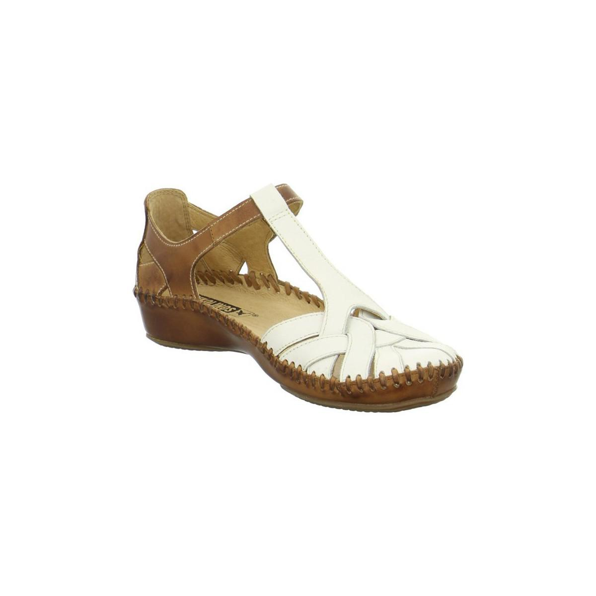 523724e776d608 Pikolinos Nata Women s Sandals In White in White - Lyst