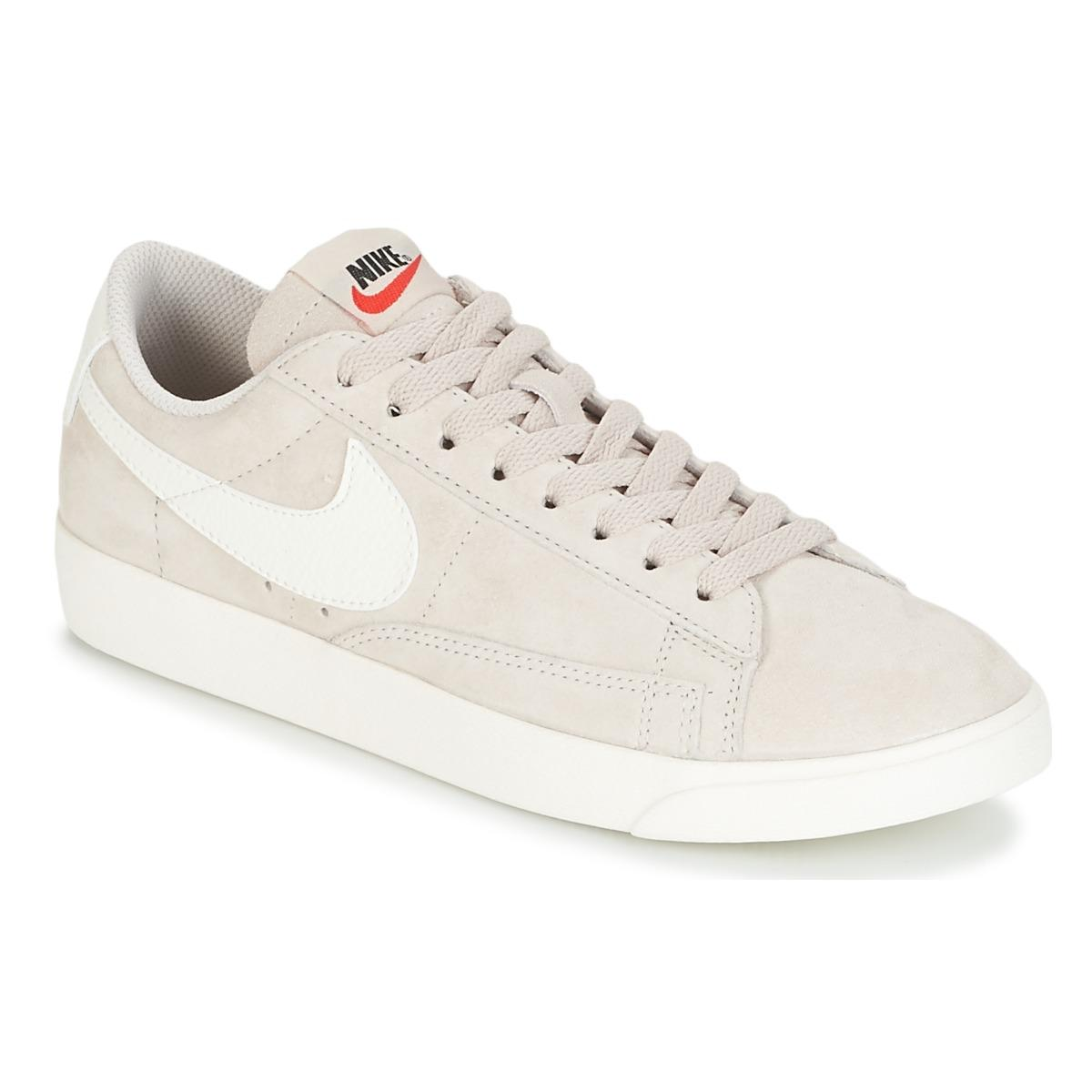 Nike BLAZER LOW SUEDE W women's Shoes (Trainers) in Free Shipping Best Wholesale Cheapest Websites Footaction Cheap Online Low Cost T60jR4c