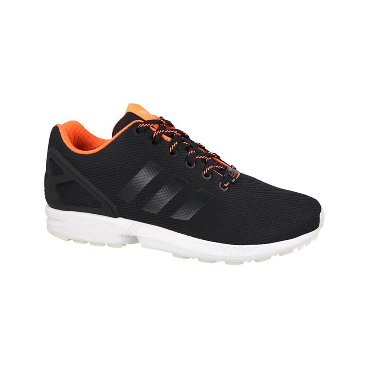 311e2e6af ... promo code for adidas zx flux mens shoes trainers in black in black for men  lyst